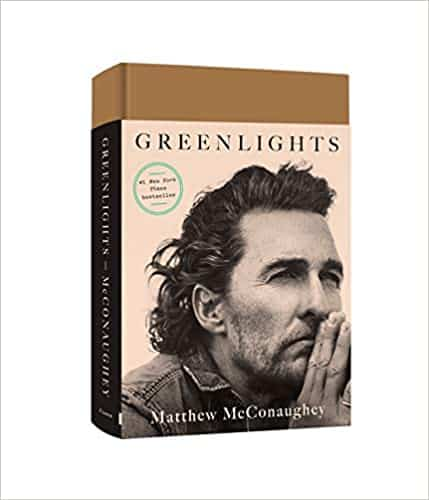 How many chapters in Greenlight: Matthew McConaughey? How long to read it?
