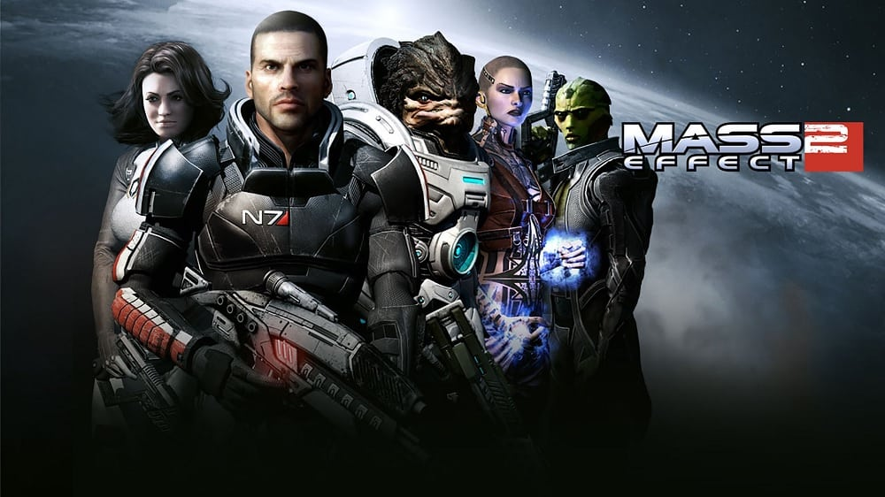 How many chapters in Mass effect 2 ?