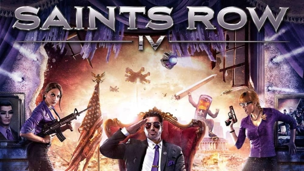 How many chapters in Saints Row 4 ?