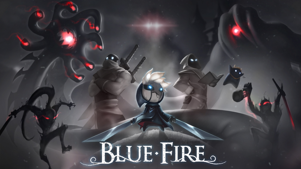 How many chapters in blue fire ?